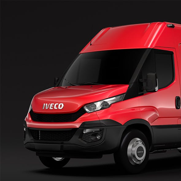 Iveco Daily Van L4H2 2014 2016 - 3DOcean Item for Sale