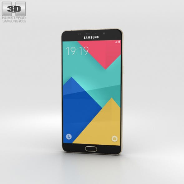 Samsung Galaxy A9 (2016) Champagne Gold - 3DOcean Item for Sale