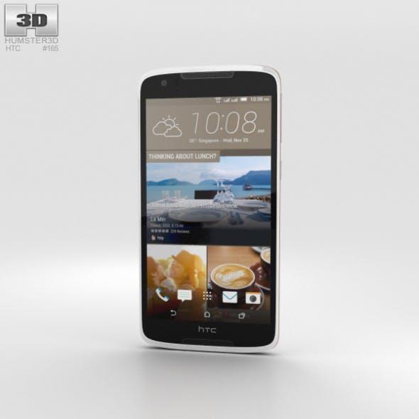 HTC Desire 828 Dual Sim Pearl White - 3DOcean Item for Sale