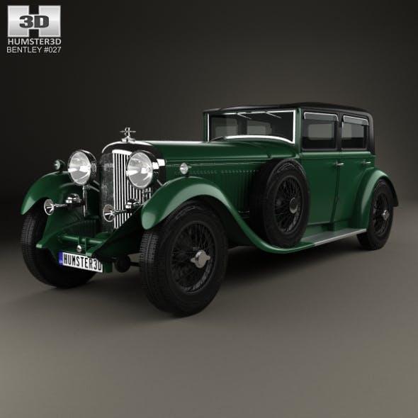 Bentley 8 Litre 1930 - 3DOcean Item for Sale