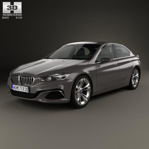 BMW Compact Sedan 2015 - 3DOcean Item for Sale