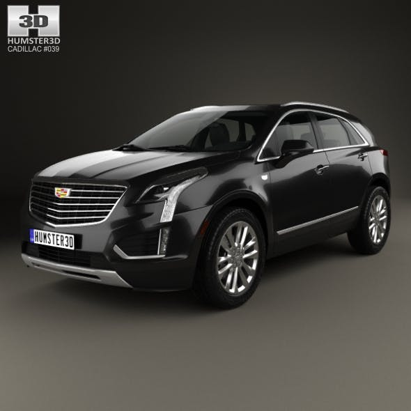 Cadillac XT5 2016 - 3DOcean Item for Sale