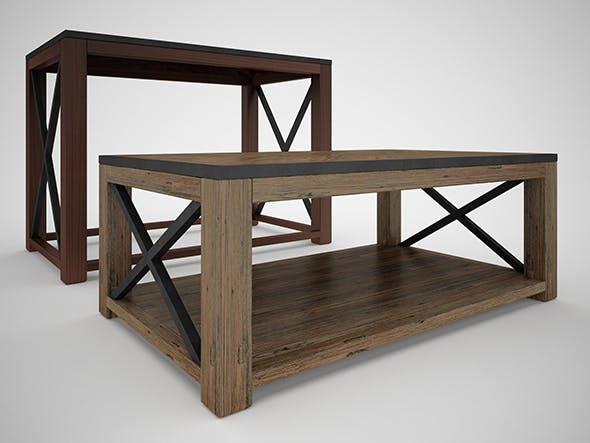 Tillman Sofa Table - 3DOcean Item for Sale