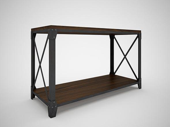 Mountainier Sofa Table - 3DOcean Item for Sale