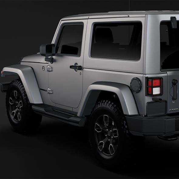 Jeep Wrangler Smoky Mountain JK 2017 - 3DOcean Item for Sale