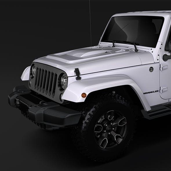 Jeep Wrangler Unlimited Smoky Mountain JK 2017 - 3DOcean Item for Sale