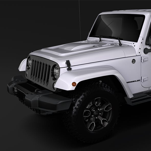 Jeep Wrangler Unlimited Smoky Mountain JK 2017
