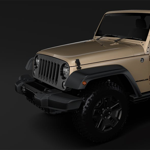 Jeep Wrangler Willys Wheeler JK 2017