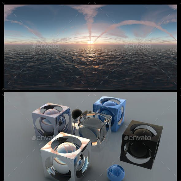 Ocean Dawn 14 - HDRI