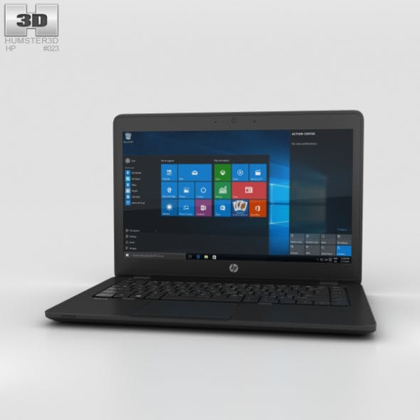 HP ZBook 14 G2 Mobile Workstation - 3DOcean Item for Sale