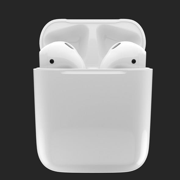 Apple AirPods - 3DOcean Item for Sale