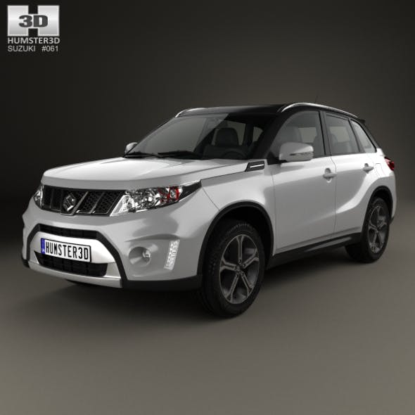 Suzuki Vitara S 2015 - 3DOcean Item for Sale
