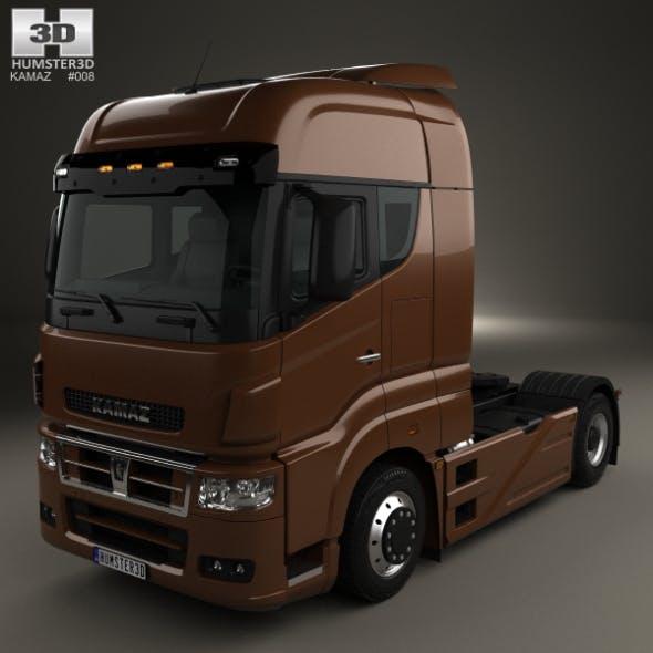 KamAZ 5490 S5 Tractor Truck 2014 - 3DOcean Item for Sale
