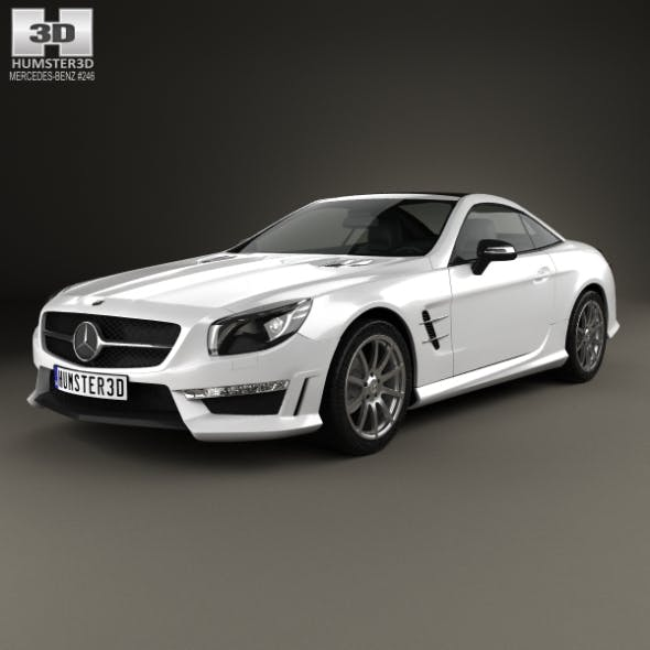 Mercedes-Benz SL-Class (R321) AMG 2013 - 3DOcean Item for Sale