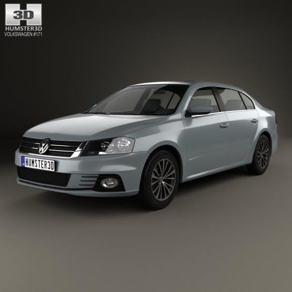 Volkswagen Lavida Sport 2013 - 3DOcean Item for Sale