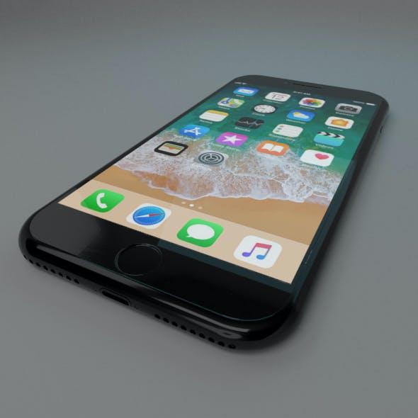 Iphone 7 plus, cellular telephone
