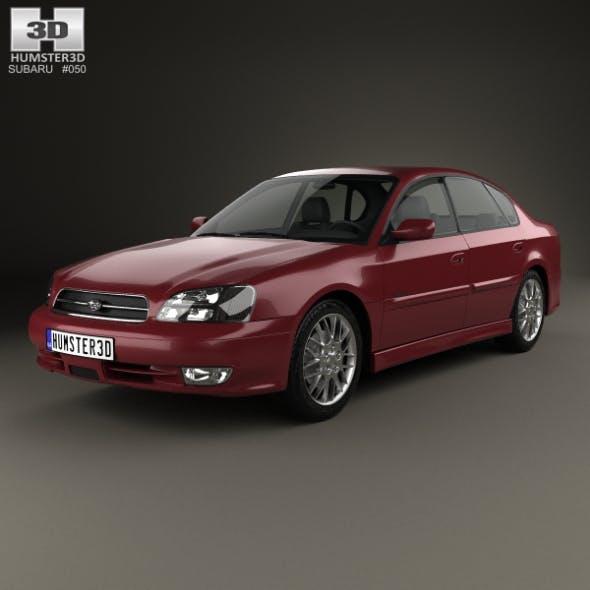 Subaru Legacy 1998 - 3DOcean Item for Sale
