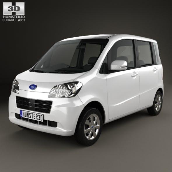 Subaru Lucra 2010 - 3DOcean Item for Sale