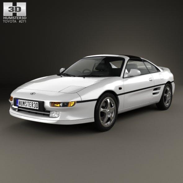 Toyota MR2 1990 - 3DOcean Item for Sale