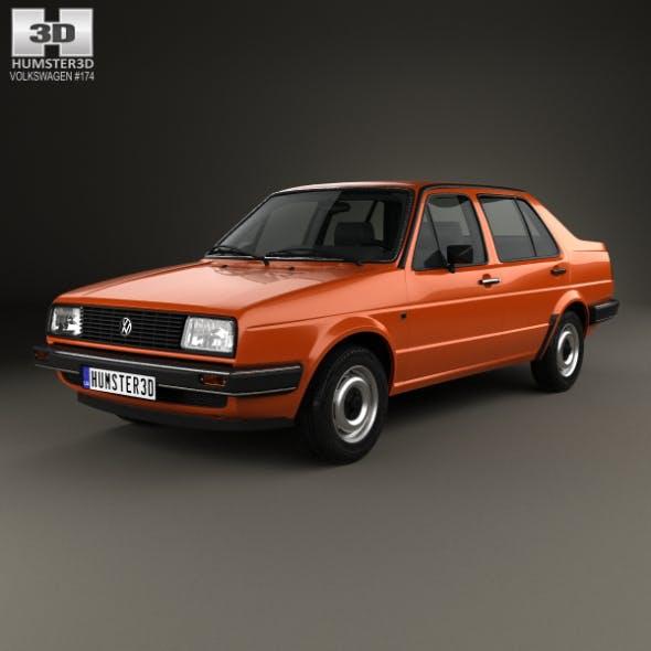 Volkswagen Jetta 1984 - 3DOcean Item for Sale