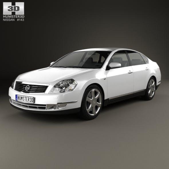 Nissan Teana 2006 - 3DOcean Item for Sale