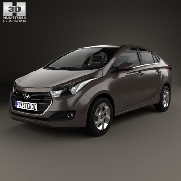 Hyundai HB20S 2015 - 3DOcean Item for Sale