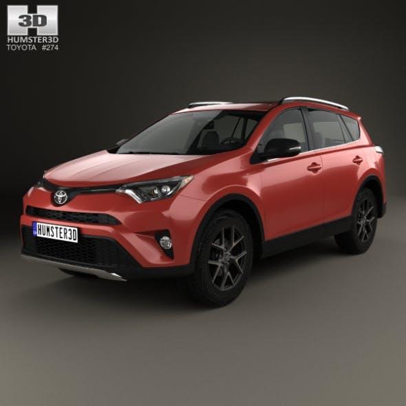 Toyota RAV4 SE 2016 - 3DOcean Item for Sale