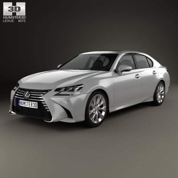 Lexus GS 350 2015 - 3DOcean Item for Sale