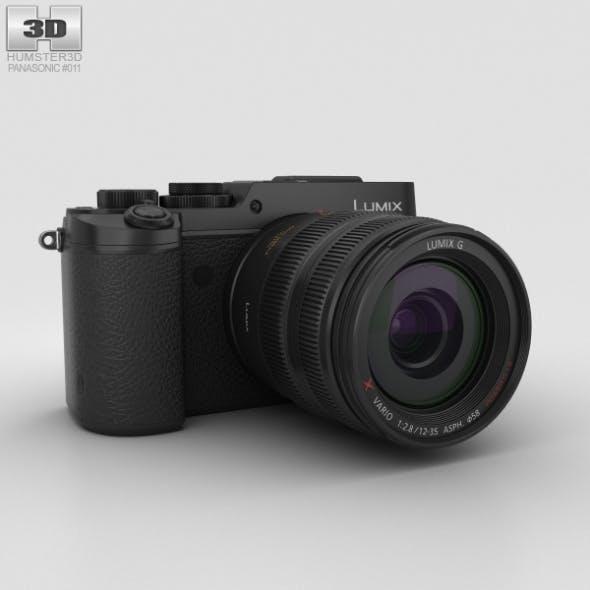 Panasonic Lumix DMC-GX8 Black - 3DOcean Item for Sale