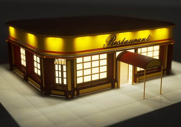 Restaurant - 3DOcean Item for Sale