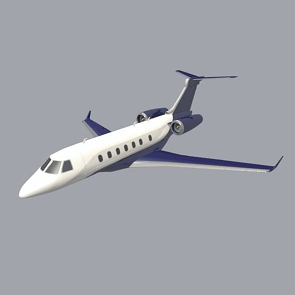 Embraer Legacy 500 corporate jet - 3DOcean Item for Sale