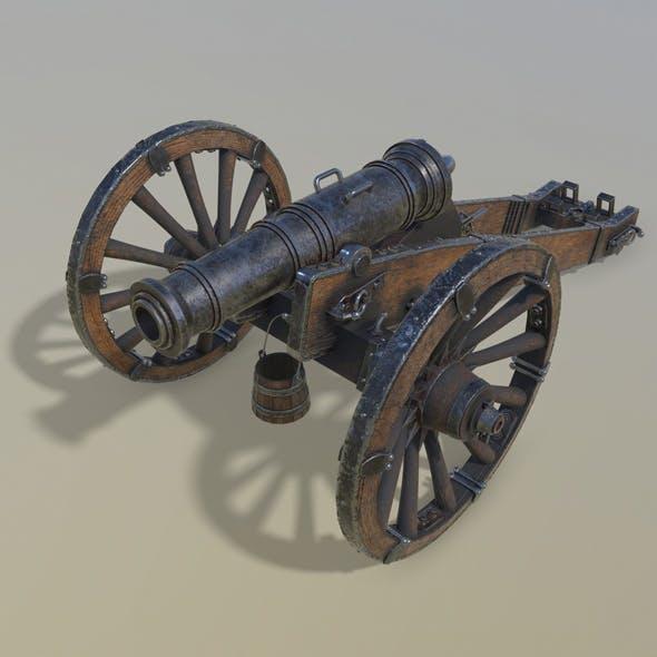 Cannon Unicorn 3d model - 3DOcean Item for Sale