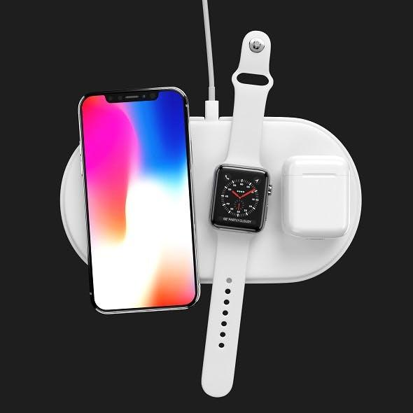 Apple Set - 3DOcean Item for Sale