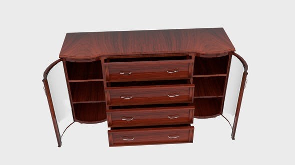 Antique Cupboard Buying Guide - 3DOcean Item for Sale