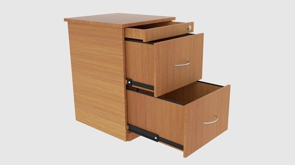 Filing Cabinet Drawer - 3DOcean Item for Sale