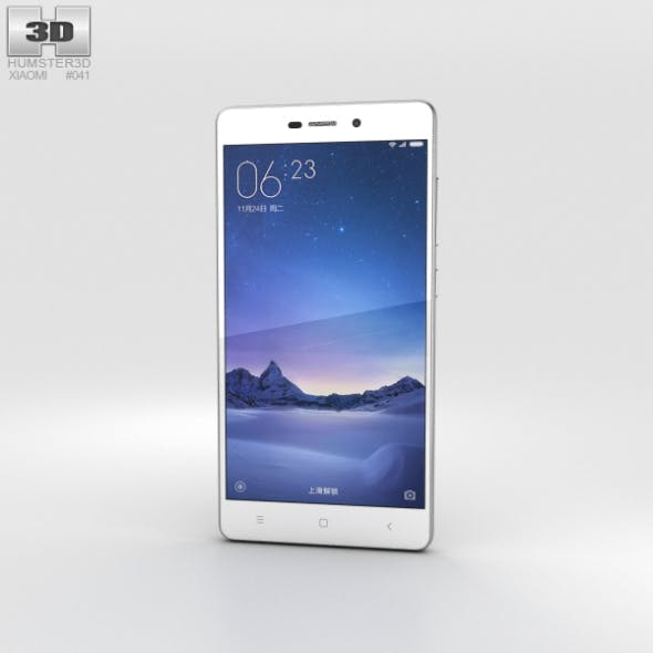 Xiaomi Redmi 3 Silver - 3DOcean Item for Sale