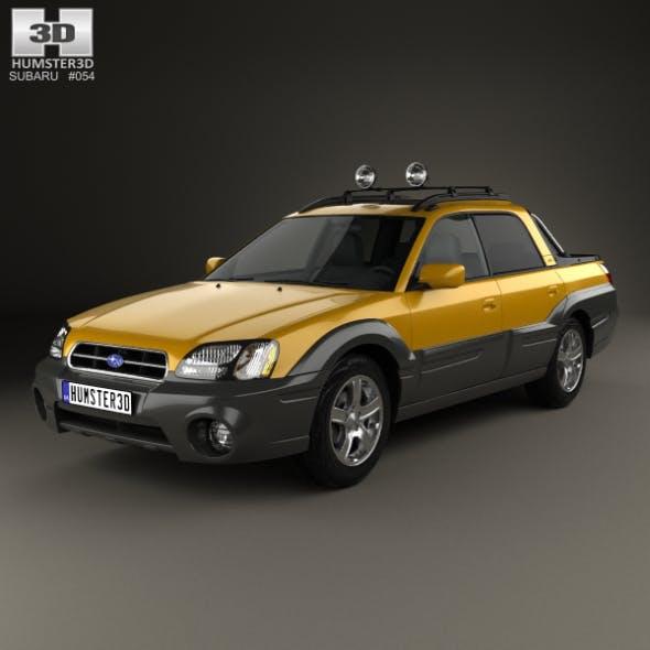 Subaru Baja 2002