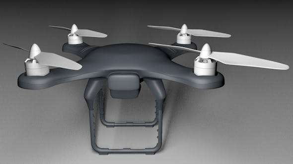 Drone with Camera - 3DOcean Item for Sale