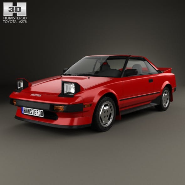 Toyota MR2 1984 - 3DOcean Item for Sale
