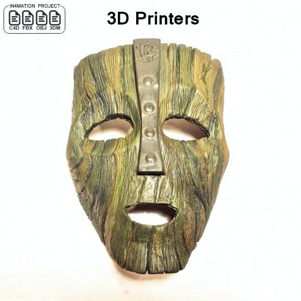 Mask of Jim Carrey