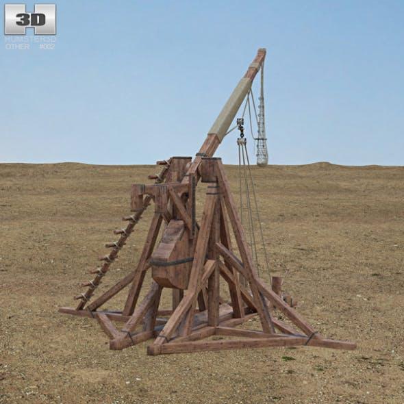Trebuchet - 3DOcean Item for Sale