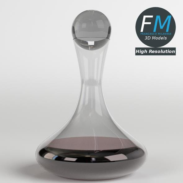 Wine Decanter with Stopper