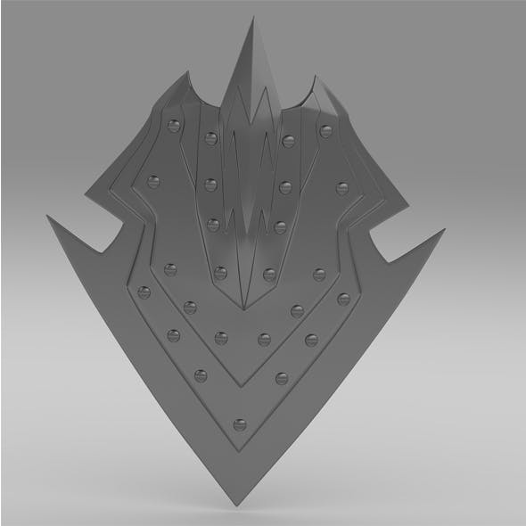 Orcish shield - 3DOcean Item for Sale