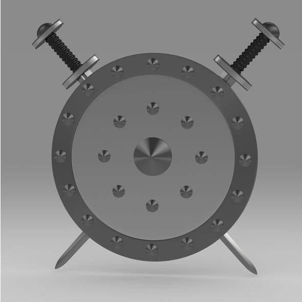 Shield and sword 7