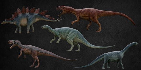 Jurassic Pack - 3DOcean Item for Sale