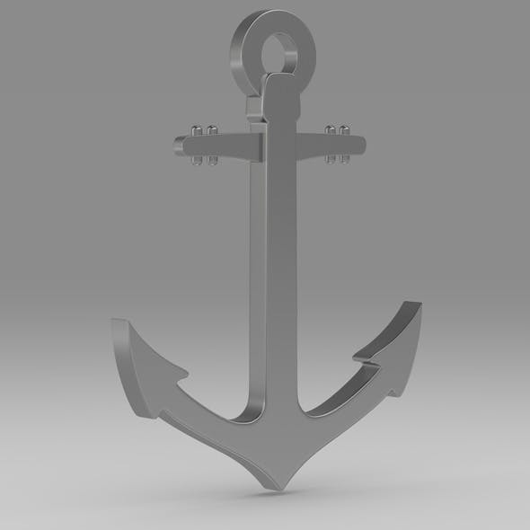 Anchor 7 - 3DOcean Item for Sale