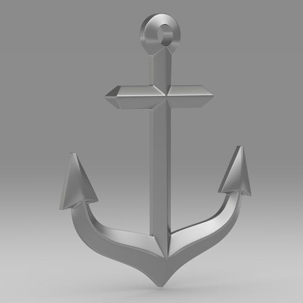 Anchor 10 - 3DOcean Item for Sale