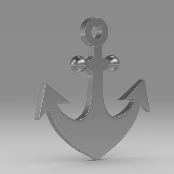 Anchor 17 - 3DOcean Item for Sale