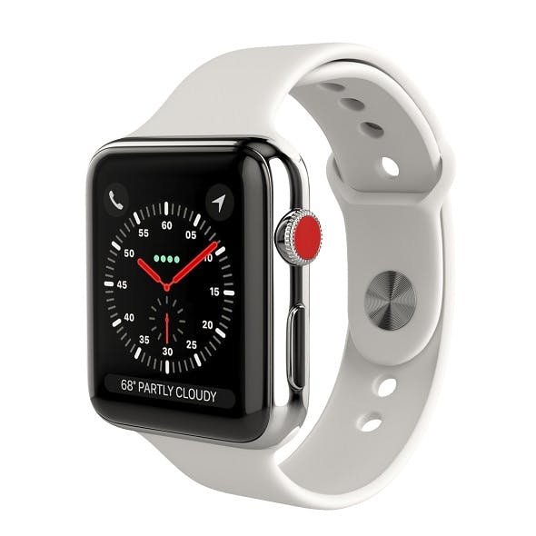 Apple Watch Series 3 Cellular 42mm Stainless Steel Case