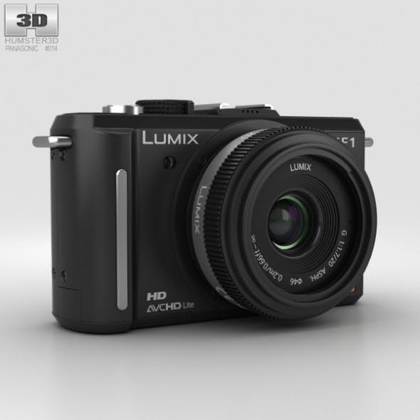 Panasonic Lumix DMC-GF1 Black - 3DOcean Item for Sale